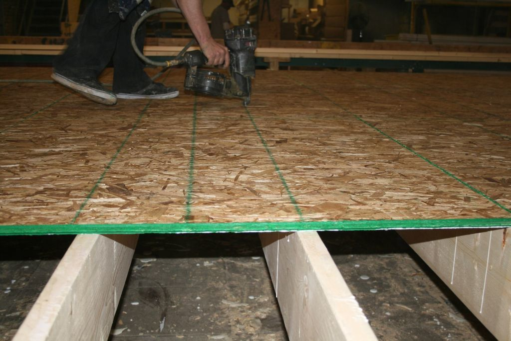 Commodore Homes Uses Proven 3 4 Tounge Groove OSB For Our Floor Decking