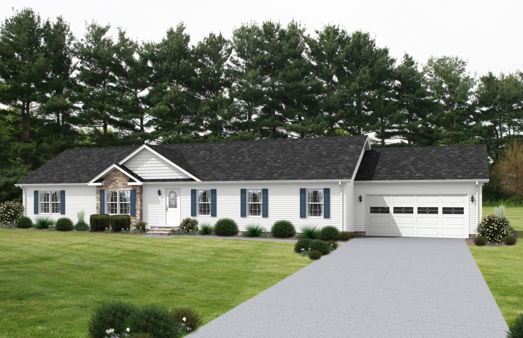White Brick House Exterior Curb Appeal