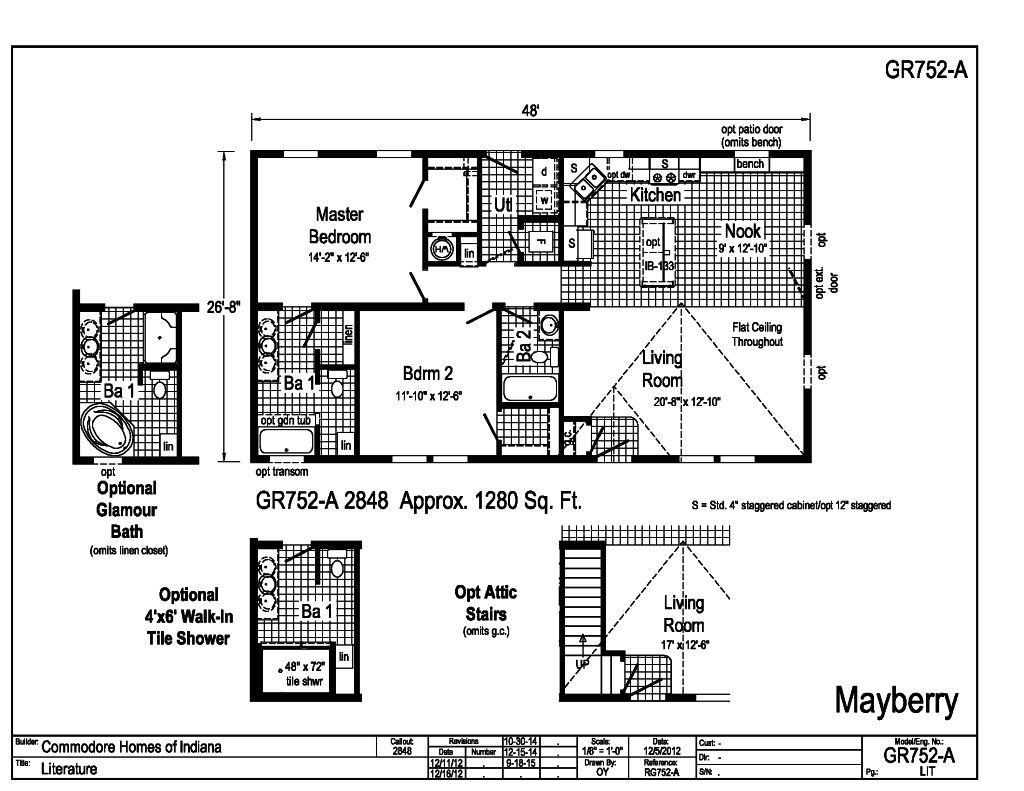 Grandville LE Ranch - Mayberry - GR752A