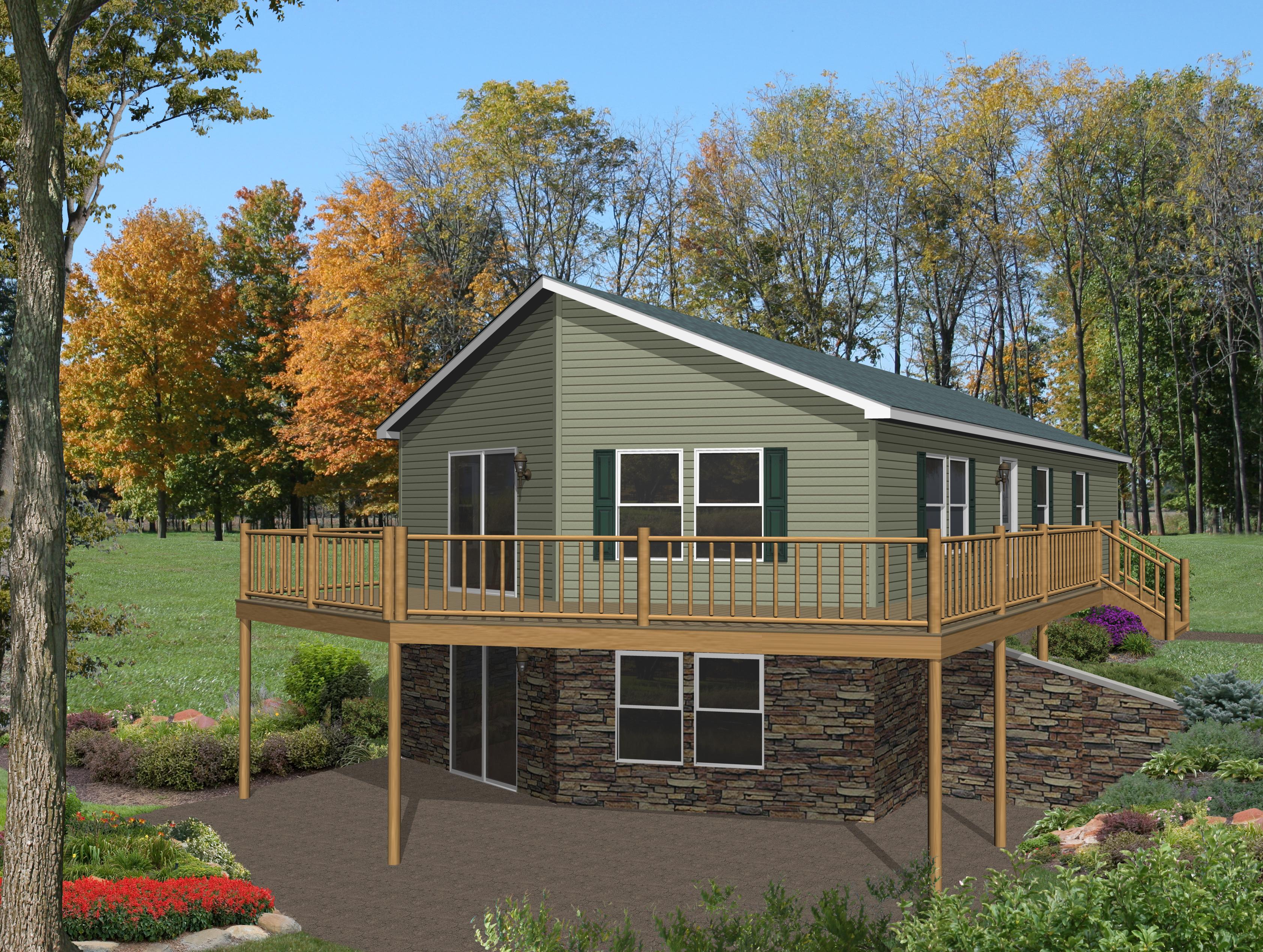 Grandville le modular ranch appleton rg751a find a for Modular lake homes